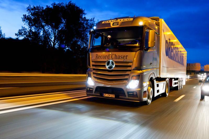 Mercedes Sier Ja Til Hvo Biodiesel Lastebil No