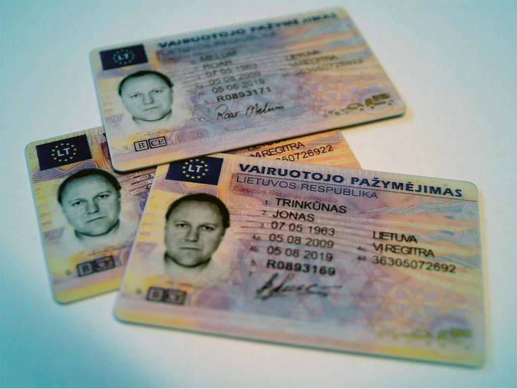 mistet førerkort bestille nytt