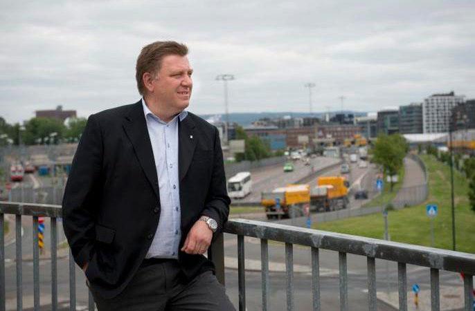 Geir A. Mo tror ikke etatenes mål om 50 prosent nye nullutslippslastebiler i 2030 er umulig, men da må det en tydelig satsing på plass. Foto: NLF