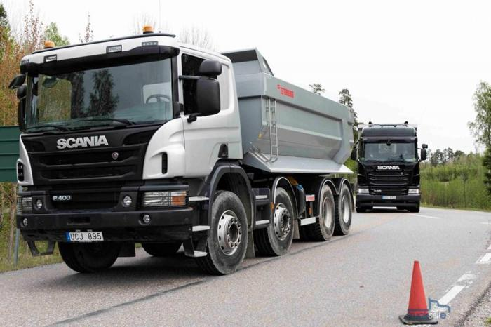 Scanias Astator-prototype under testing. Foto: Scania Trucks